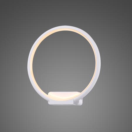 uchwyt lampy - koło led białe