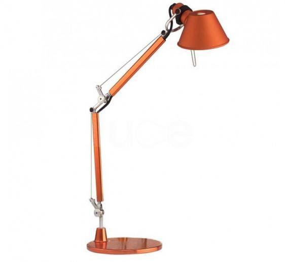 Lampa biurkowa Tolomeo Micro Tavolo - pomarańczowa