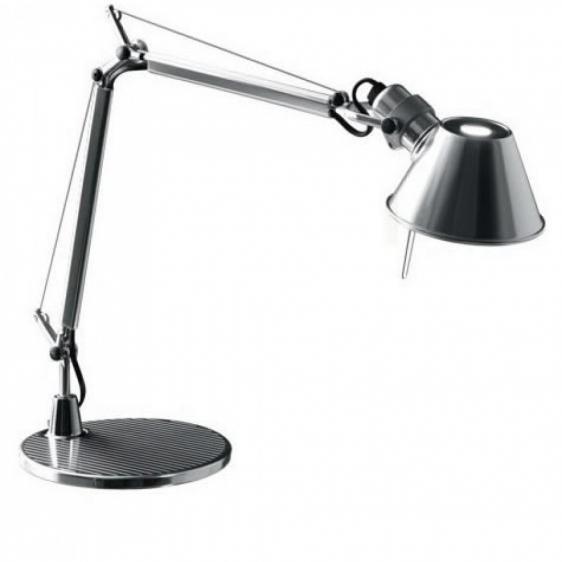 Lampa biurkowa Tolomeo Micro Tavolo - polerowane aluminium