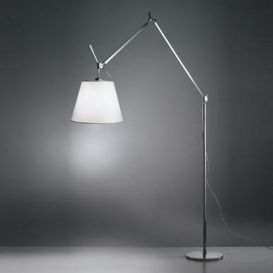 lampa podłogowa z abażurem