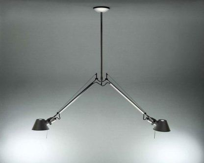 nowoczesna lampa wisząca dwa klosze