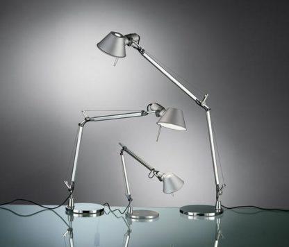 nowocezsne srebrne lampy stojące