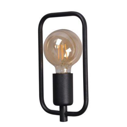 nowoczesna lampa z drucianym kloszem