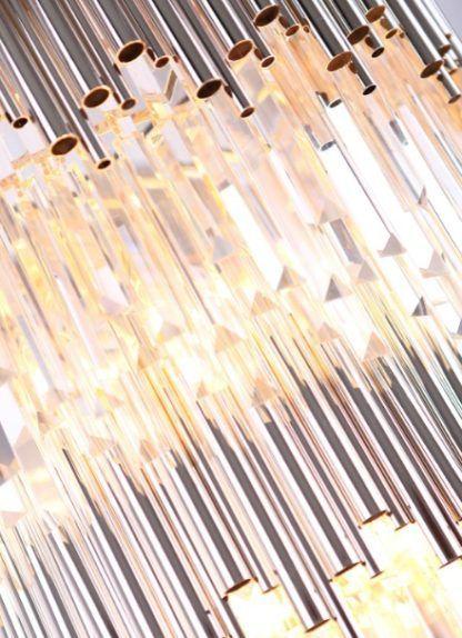 lampa z kryształów luksusowa