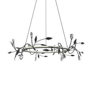 Lampa wisząca Belle - srebrna, LED