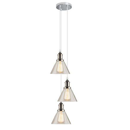 loftowa lampa wisząca do kuchni