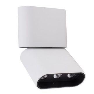 Lampa sufitowa Marvel - biała, regulowana, LED