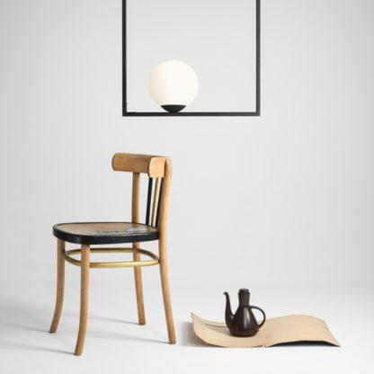 geometryczna lampa wisząca nowoczesna