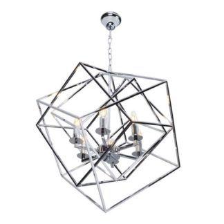 Lampa wisząca Andora - chrom
