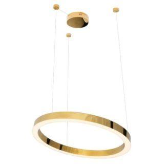 Lampa wisząca Luxury - LED, złoty ring