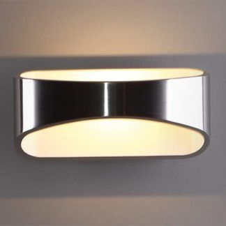 Srebrny kinkiet Hugo - LED, 3000K