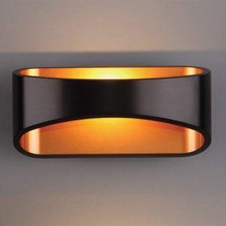 Dekoracyjny kinkiet Hugo - LED, czarny