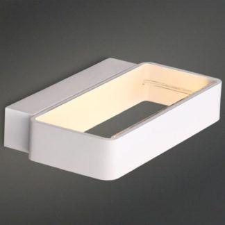 Dekoracyjny kinkiet Aero - biały, LED