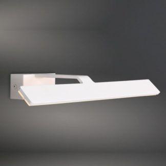 Biały kinkiet Blanco - nowoczesny, podłużny