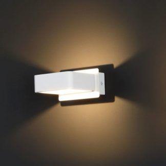 Biały kinkiet Tokyo - nowoczesny, LED