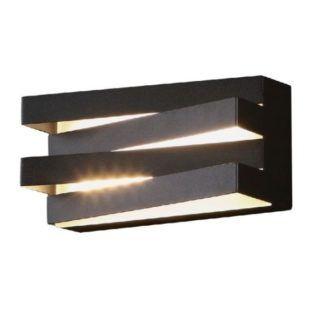 Czarny kinkiet Araxa - nowoczesny, LED