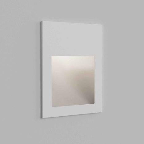 Kinkiet Borgo 90 - LED, IP65, biała faktura