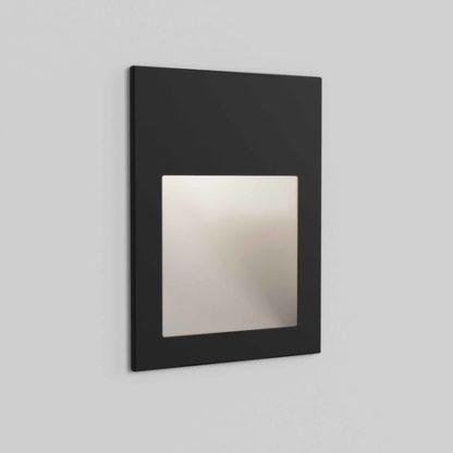 Kinkiet Borgo 90 - LED, IP65, czarna faktura