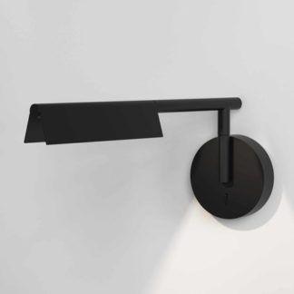 Nowoczesny kinkiet Fold - LED, czarny
