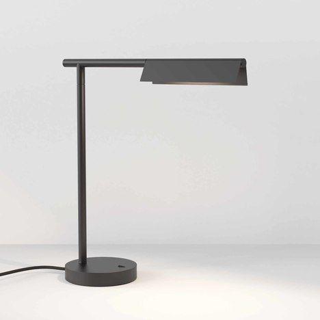 Lampa biurkowa Fold - czarny mat