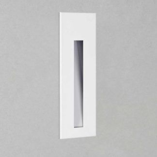 Kinkiet Borgo 55 - LED, biała faktura, IP65