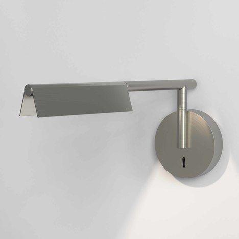 Nowoczesny kinkiet Fold - LED, srebrny