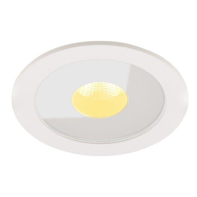 Biała oprawa podtynkowa Plasma - LED, IP54