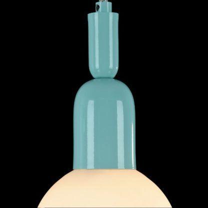 niebieska lampa do pokoju chłopca