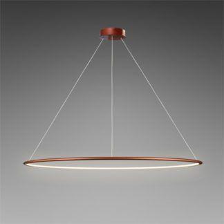 Miedziana lampa wisząca Shape - LED, 3000K, 150cm, IP44