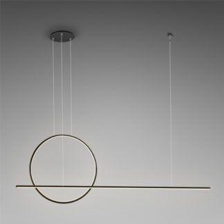 Nowoczesna lampa wisząca Linea No.2 - LED, 3000K