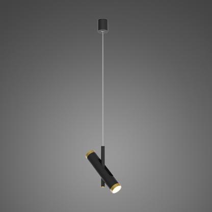 nowoczesny reflektor wiszący czarny