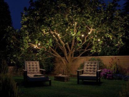 łańcuch świetlny do ogrodu