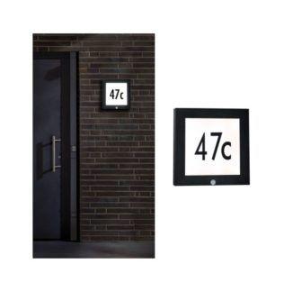 Zewnętrzny panel LED - 30cm, numer domu, czujnik ruchu