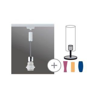 Zawieszenie do lamp szynowych - biały/chrom, URail 2Easy