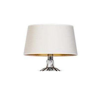 kremowy abażur do lampy