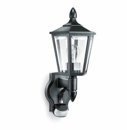 klasyczny kinkiet latarnia z czujnikiem