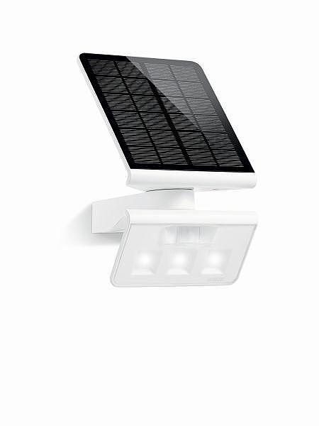 biała lampa solarna naświetlacz