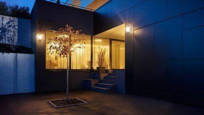 nowoczesne oświetlenie zewnętrzne aranżacja