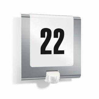 Kinkiet L 220 LED - czujnik ruchu, numer domu