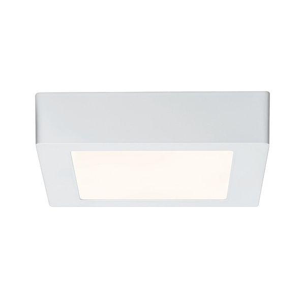 Mały plafon Lunar - biały, LED, 17cm
