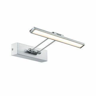 Kinkiet Beam Thirty - LED, srebrny, regulowany