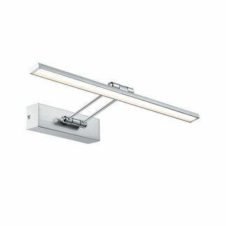 Srebrny kinkiet Beam Fifty - LED, nowoczesny