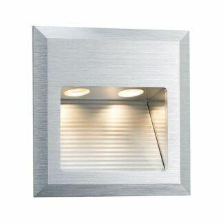 Oprawa schodowa Special Line Quadro - srebrna, LED