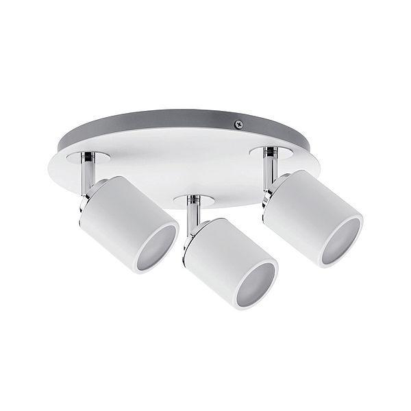 biała lampa sufitowa do łazienki