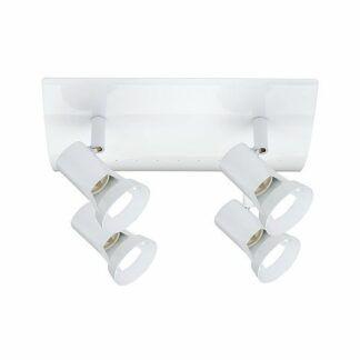 Lampa sufitowa Teja - biała, 4xGU10