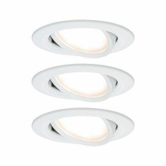 Oczko sufitowe Coin Slim - LED, białe, zestaw 3szt.