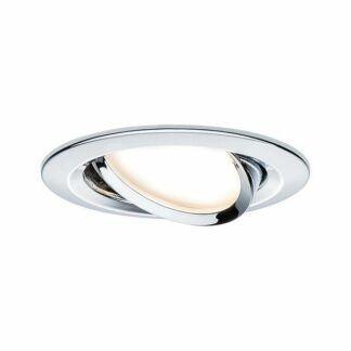 Oczko sufitowe Coin Slim - LED, chrom, IP23