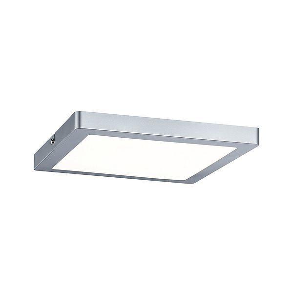 Srebrny plafon Atria - LED, 22cm, 2700K