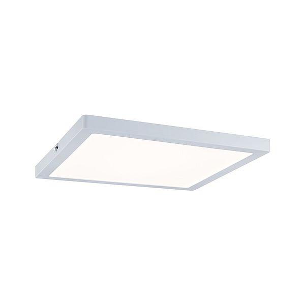 Kwadratowy plafon Atria - biały, LED