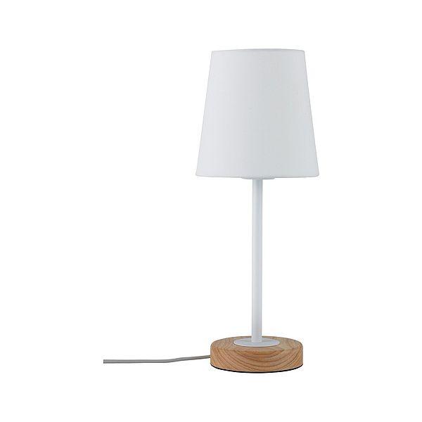 biała skandynawska lampka nocna